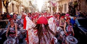 Το Samba-reggae συγκρότημα των Batala στο καρναβάλι του Μεταξουργείου (2013)